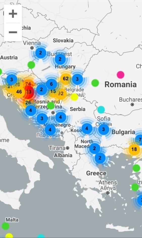 Aktuelles von der EU-Außengrenze
