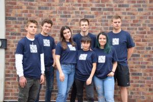 Gruppenfoto Freiwillige 2019/20