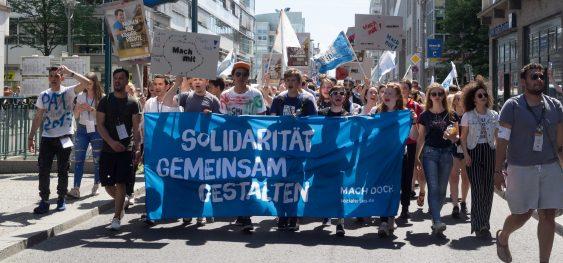 Vermittlung von Solidarität und demokratischer Bildung